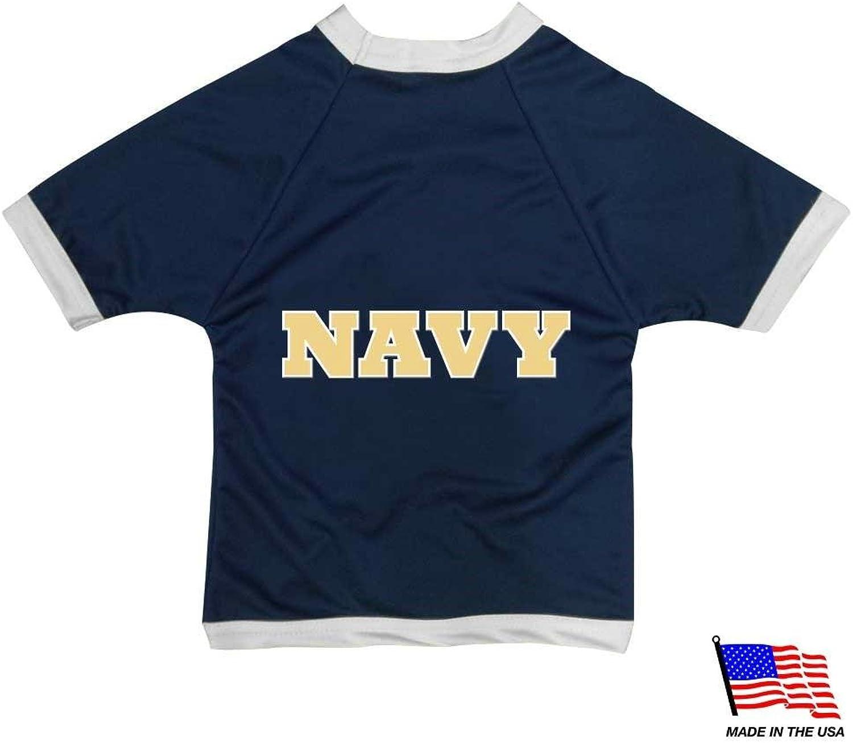 Navy Midshipmen Athletic Mesh Pet Jersey  Small