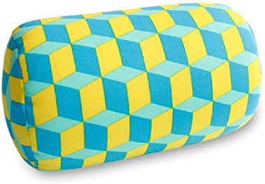 "Bright Sun Comfy Travel Roll Car Cushion Pillow 4 Back Head Neck Support 7"" x 11.8"" A17#ECAS"
