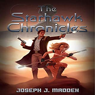The Starhawk Chronicles  audiobook cover art