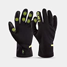 JCCOZ Sports Full Finger Gloves Non-Slip Training Football Running Autumn and Winter Warm Fitness Touch Screen Gloves (Color : D, Size : L)