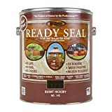 Ready Seal 145 Exterior Stain and Sealer for Wood, 1-Gallon, Burnt Hickory