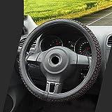 ZYXP Universal Auto Lenkradhülle Lenkrad Abdeckung Lenkradbezug Aus Mikrofaser Leder, Automotive...