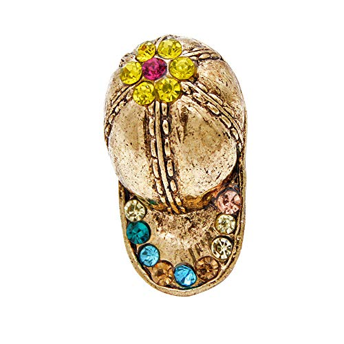 GLKHM Women's Brooches & Pins Cap Brooches Unisex Women and Men Brooch Pin Vintage Fashion Accessories-1_1.7 * 2.8Cm