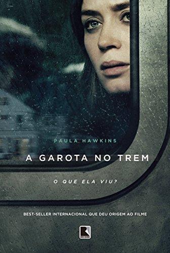 A garota no trem (Capa do filme)
