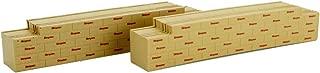 Micro-Trains MTL N-Scale Decorated Bulkhead Flat Car Lumber Load Simpson 2-Pack
