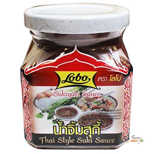 12x220ml Lobo Sukiyaki Sauce Thai Style