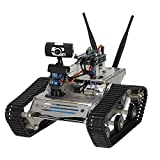 GOOLSKY Wifi RC Car with 1.3MP HD Camera DIY Crawler RC Robot Tank Support PC Mobile Phone Control Monitoring