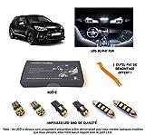 Pack FULL LED intérieur pour DS3 (Kit ampoules blanc pur)