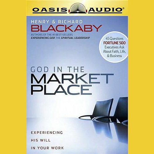 God in the Marketplace audiobook cover art