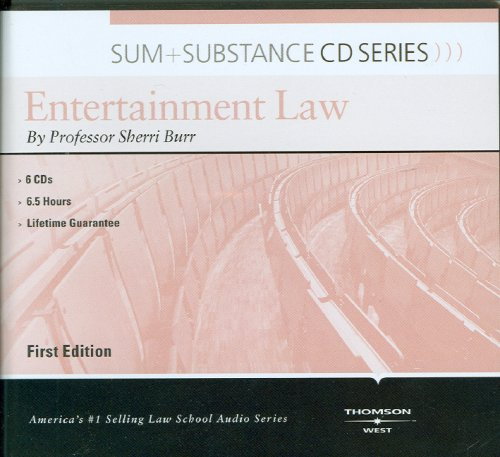Sum and Substance Audio Set on Entertainment Law