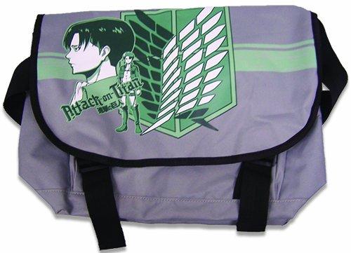 Great Eastern Entertainment Attack On Titan Levi Messenger Bag, Green