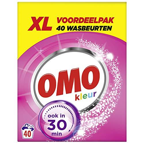 Omo Waspoeder Kleur 2.565 kg - 40 Wasbeurten Voordeelpak - 1 stuk