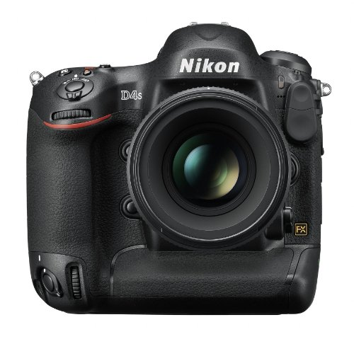 Nikon D4S 16.2 MP CMOS FX Digital SLR with Full 1080p HD Video (Body...