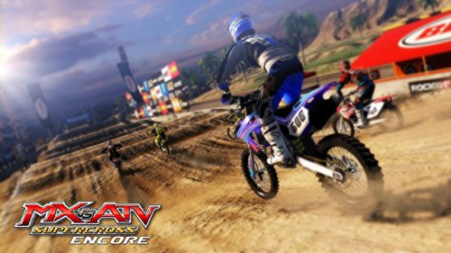 3. MX vs. ATV: Supercross Encore Edition - Best Dirt Bike Games for Xbox One