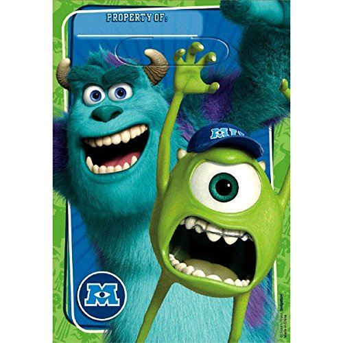 Folded Loot Bag | Disney Monsters University Collection | Party Accessory