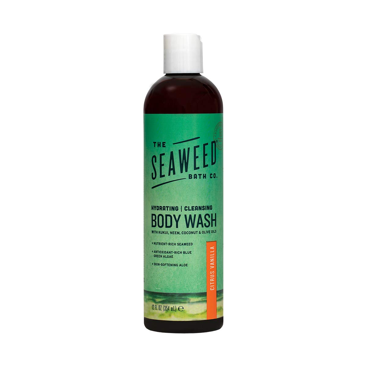 The Seaweed Bath Co. Same day shipping Hydrating Vanilla Citrus Sales for sale Wash Body Nutrie