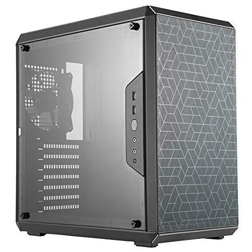 Cooler Master MasterBox Q500L - Mini Tower Case ATX con Visione Completa Pannello Laterale, Cable Management Ordinato, e Molteplici Opzioni Raffreddamento