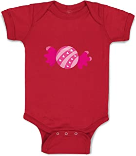 Custom Boy & Girl Baby Bodysuit Sweet Valentine Candy Funny Cotton Baby Clothes