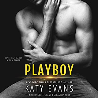 Playboy                   By:                                                                                                                                 Katy Evans                               Narrated by:                                                                                                                                 Grace Grant,                                                                                        Sebastian York                      Length: 9 hrs and 1 min     9 ratings     Overall 4.8