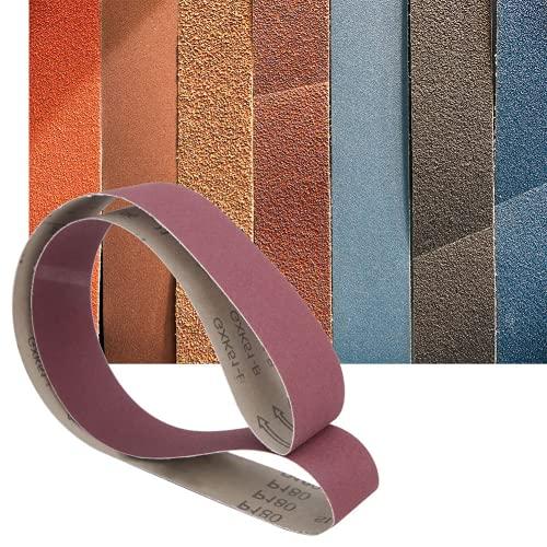 Lijadora De Papel, Material De óxido De Aluminio, Cinta De Lijadora, 10 Piezas Para Pulido No Metálico(320#)