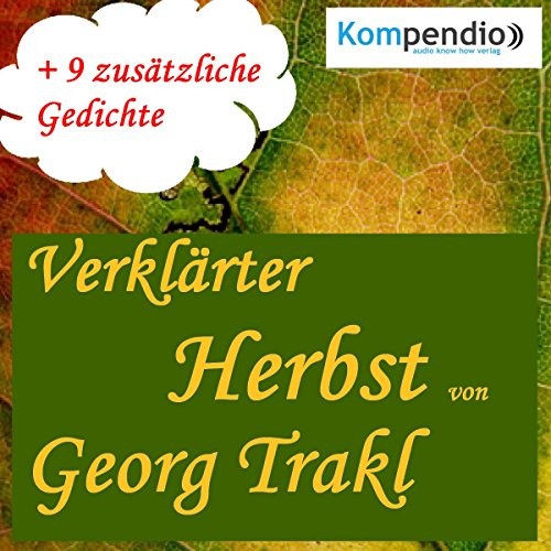 Verklärter Herbst audiobook cover art
