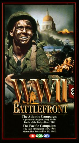World War II (WWII) Battlefront: The Atlantic Campaign: Operation Dragoon (August 1944), Battle of the Bulge (December 1944) & The Pacific Campaign: The Last Stronghold (November, 1944), Mount Hot Rocks (February 19, 1945) (In Color)