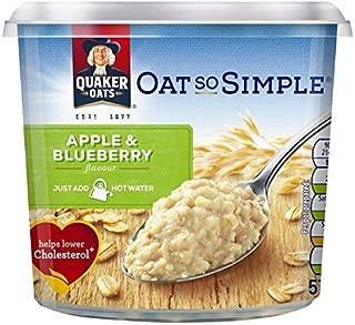 Quaker Oat So Simple Apple & Blueberry Porridge Pot - 57g (0.13lbs)
