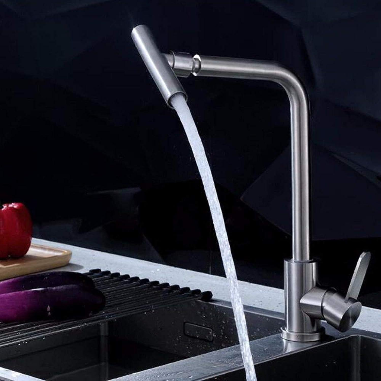 360 ° drehbarer Wasserhahn Retro Wasserhahn Küchenarmaturen Edelstahl 304 Waschtischarmatur Wasserhahn