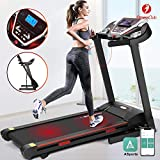 Fitnessclub Bluetooth Treadmill 2000W Folding Electric Motorised Walking Running Exercise Fitness Machine Automatic