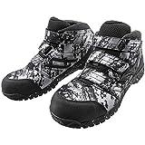 [ミズノ] 安全靴 プロテクティブスニーカー F1GA1802 オールマイティLS 26.5 3銀×黒