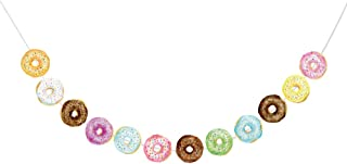 Donut Food Theme Party Banner /Donut Time Party Decorations/ Doughnut Birthday Party Decorations Supplies Cake, Donut Happy Birthday Banner ,Food Favor Displays For Thanksgiving ,Donut Grown Up Party ,Happy New Year or Birthday Party,Baby Shower Decorations