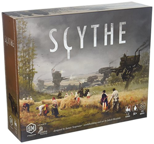 Scythe Board Game - An Engine-Building, Area Control Stonemaier Game for 1-5 Players