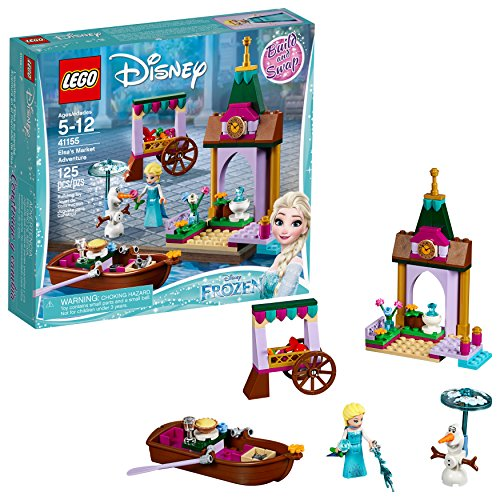 LEGO Disney Frozen Elsa's Market Adventure 41155 Buildable Toy for Girls and Boys (125 Pieces) (Discontinued by Manufacturer)