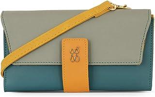 Baggit Spring-Summer 2020 Faux Leather Women's Harmonium Wallet (Green) (Lzxe Pranky)