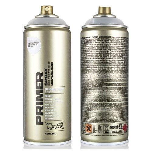 Montana Universalgrundierung für Pappe, Leder, Holz, 400 ml Spraydose