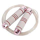 SHUTING2020 Cuerdas para Saltar Ejercicio Saltarse Velocidad del Cable para el Hombre Mujeres Mejor Cardio Entrenamiento de Resistencia Entrenamiento de la Aptitud