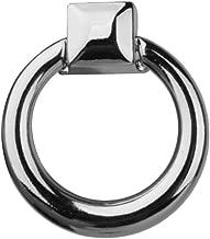 Vektenxi 1 ST/ÜCKE Zink-Legierung M/öbel Puller Einfach Schubladengriff Pull Ring Schrank Schrank Griff Knopf f/ür Home Office verwenden Silber
