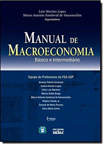 Manual De Macroeconomia: Básico E Intermediário