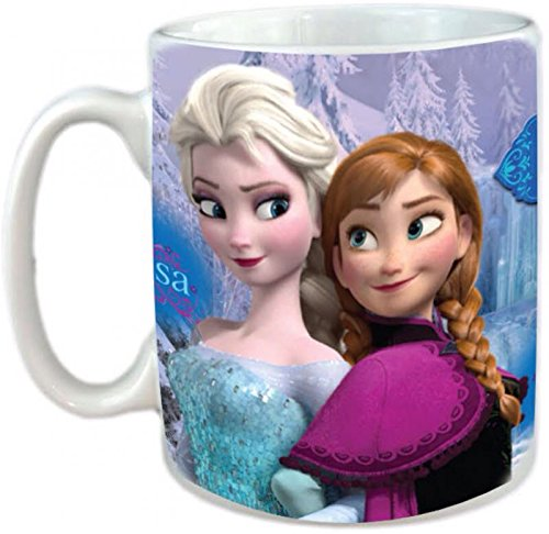 Frozen - Taza para desayuno, diseño de Frozen