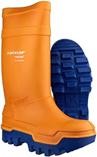 Dunlop C662933 Purofort Thermo+Full Safety Wellington Wellies Boot Mens Footwear
