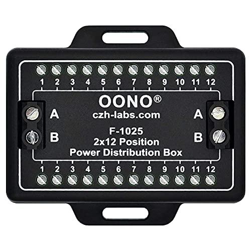 Screw Terminal Block Distribution Box Module 30A/300V 2x12 Position