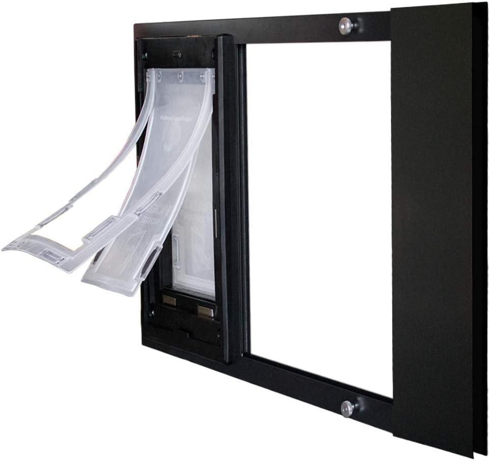 Dragon sale Sash Window Pet Double Flap Door Max 73% OFF