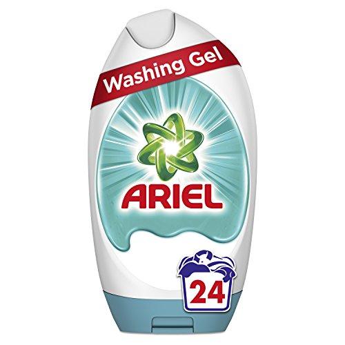 Ariel Waschgel Touch of Febreze reinigt brillant auch bei kaltem Waschen, 888 ml, 24 Waschgänge