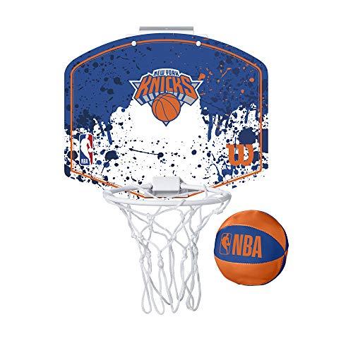 Wilson Mini-Basketballkorb NBA TEAM MINI HOOP, NEW YORK KNICKS, Kunststoff