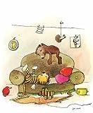 Kunstdruck/Poster: Janosch Mittagsruhe - hochwertiger