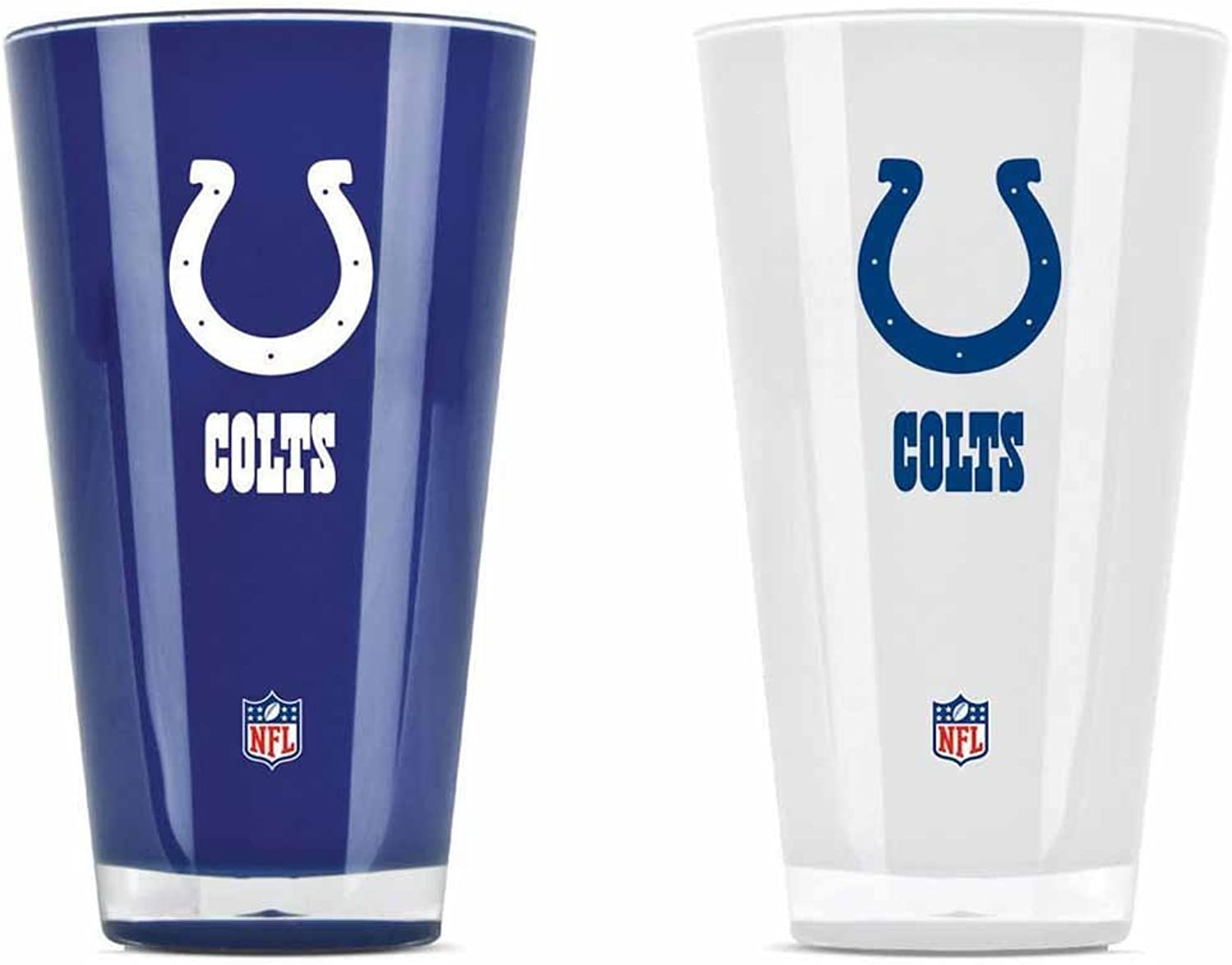 Indianapolis Colts Tumblers  Set of 2 (20 oz)
