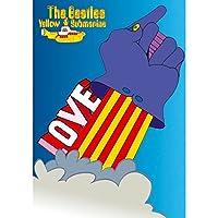 BEATLES ビートルズ (映画『The Beatles:Get Back』公開決定) - YELLOW SUBMARINE LOVE GLOVE/ポストカード・レター 【公式/オフィシャル】