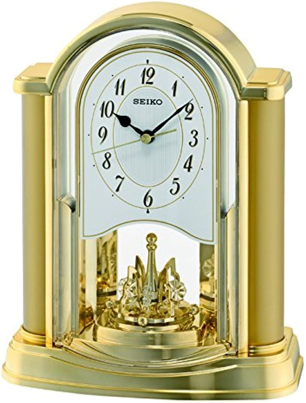 Seiko redating Pendulum Clock gold, Wood, 10x20x25 cm