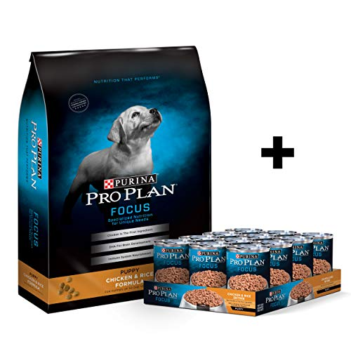 Purina Pro Plan Focus Dry & Wet Puppy Food Bundle