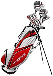 Precise Men's 69000-SR MDX II Complete Golf Set for Seniors